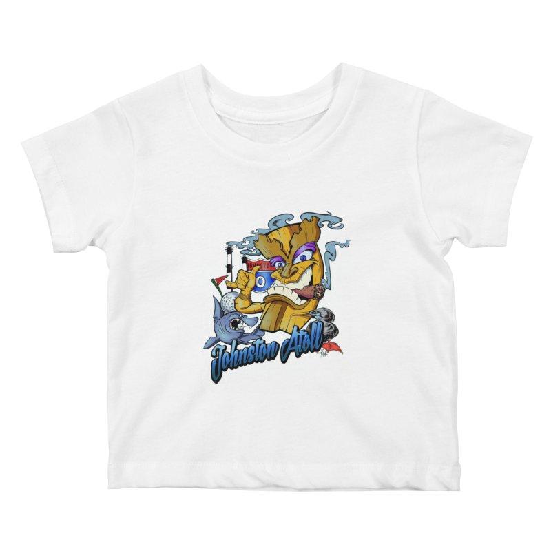 Johnston Island Kids Baby T-Shirt by goofyink's Artist Shop