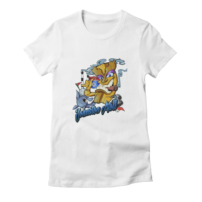 Johnston Island Women's T-Shirt by goofyink's Artist Shop
