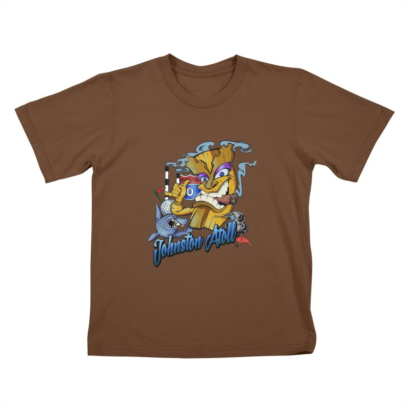Johnston Island Kids T-Shirt by goofyink's Artist Shop