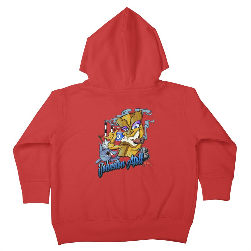 Johnston Island Kids Toddler Zip-Up Hoody by goofyink's Artist Shop