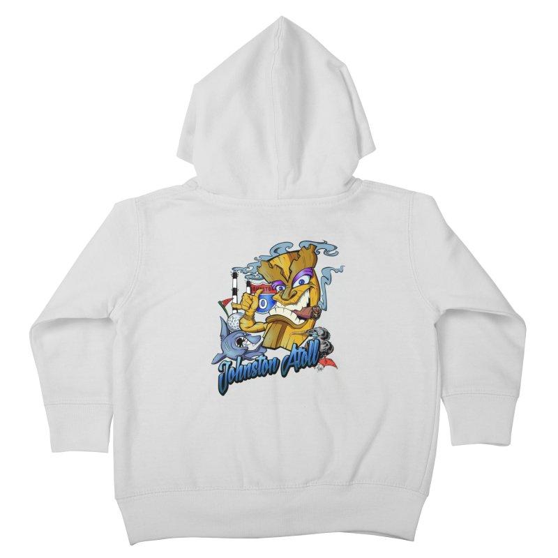 Johnston Island Kids Toddler Zip-Up Hoody by goofyink's Artist Shop