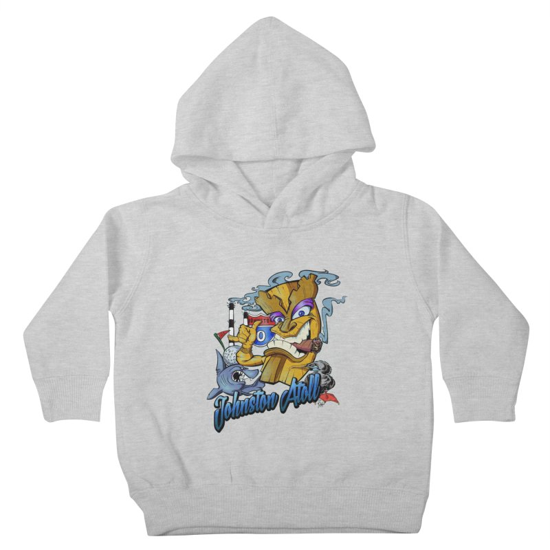 Johnston Island Kids Toddler Pullover Hoody by goofyink's Artist Shop