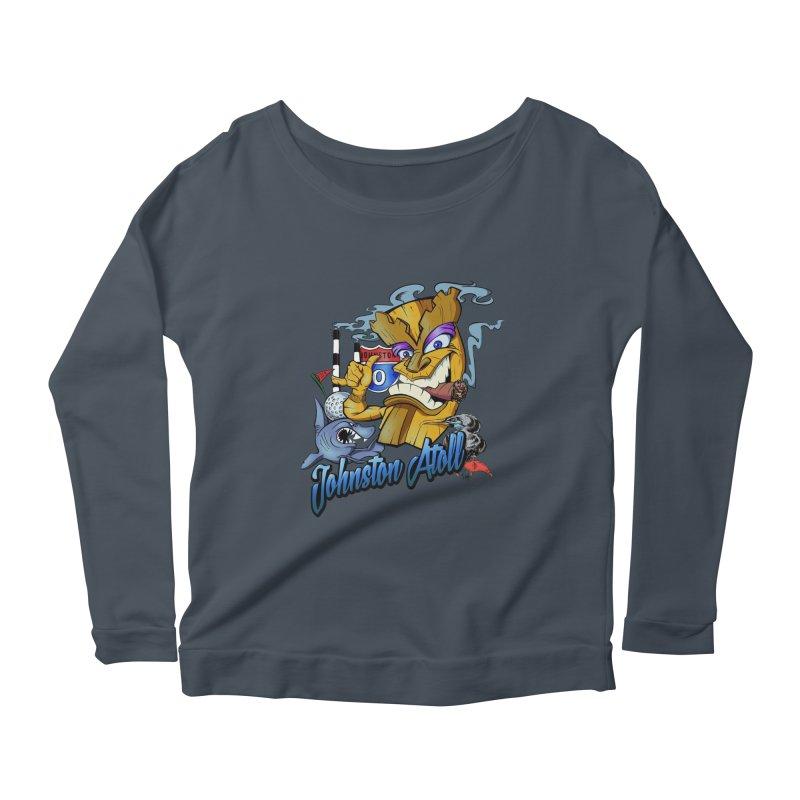 Johnston Island Women's Scoop Neck Longsleeve T-Shirt by goofyink's Artist Shop