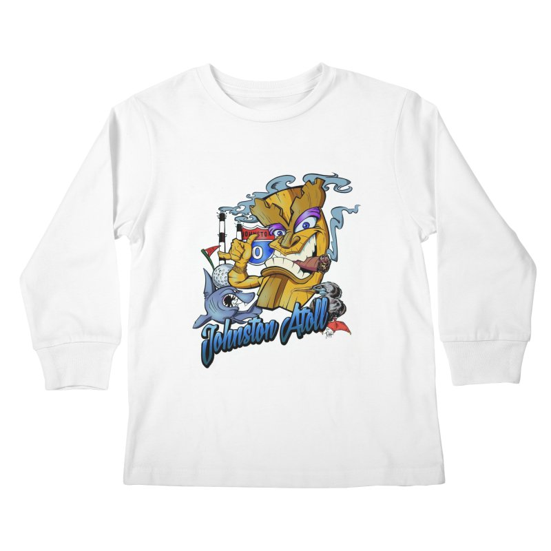 Johnston Island Kids Longsleeve T-Shirt by goofyink's Artist Shop