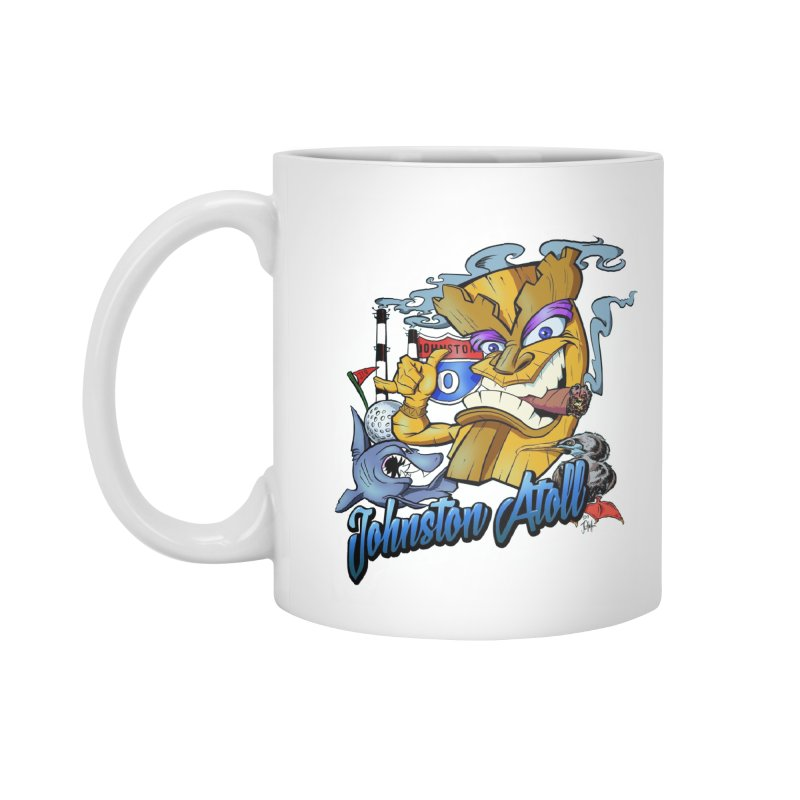 Johnston Island Accessories Standard Mug by goofyink's Artist Shop