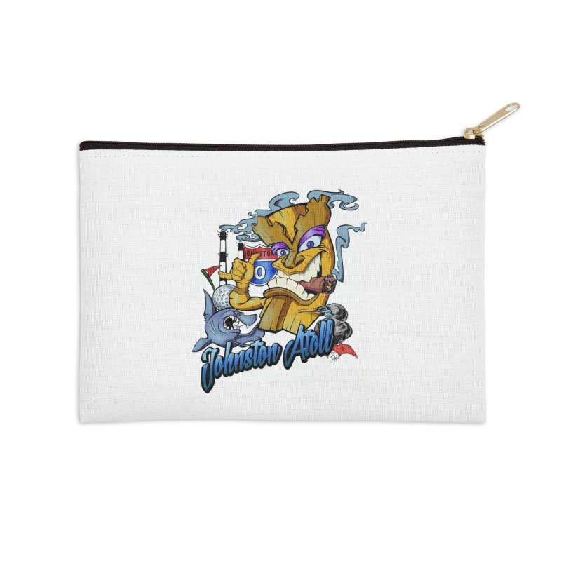 Johnston Island Accessories Zip Pouch by goofyink's Artist Shop