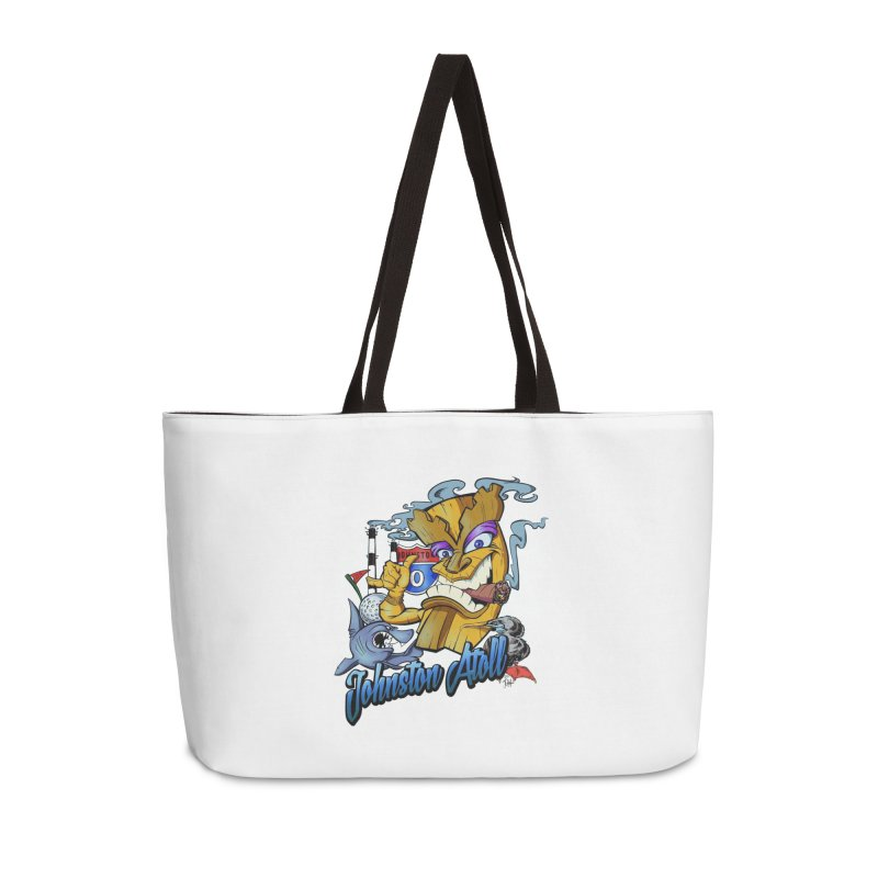 Johnston Island Accessories Weekender Bag Bag by goofyink's Artist Shop