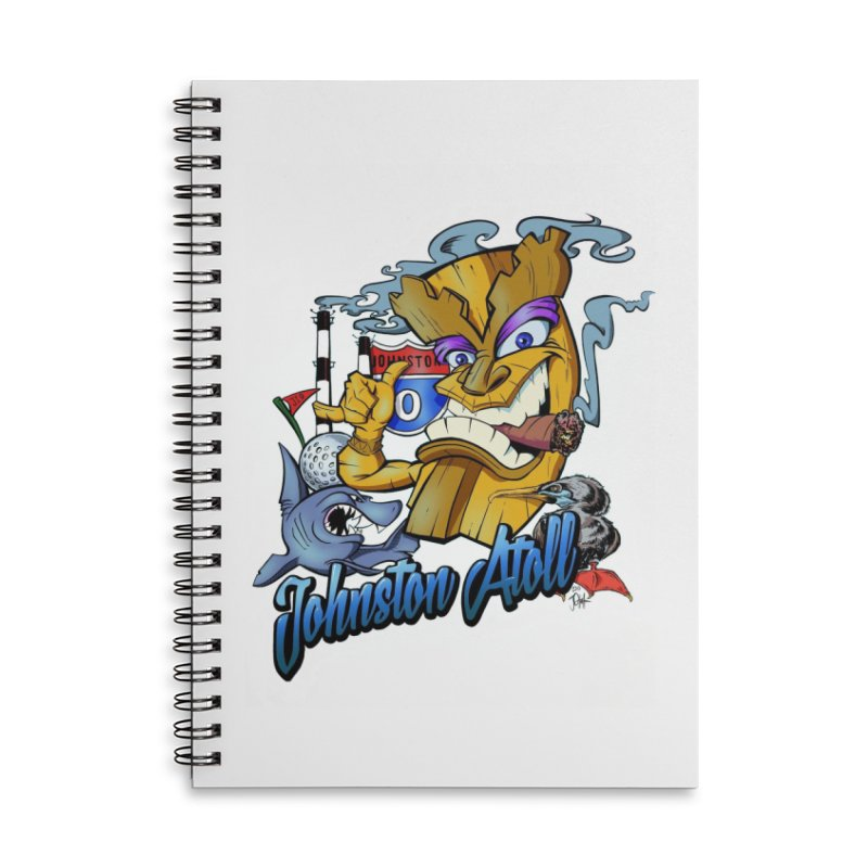 Johnston Island Accessories Notebook by goofyink's Artist Shop