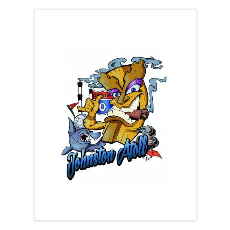 Johnston Island Home Fine Art Print by goofyink's Artist Shop