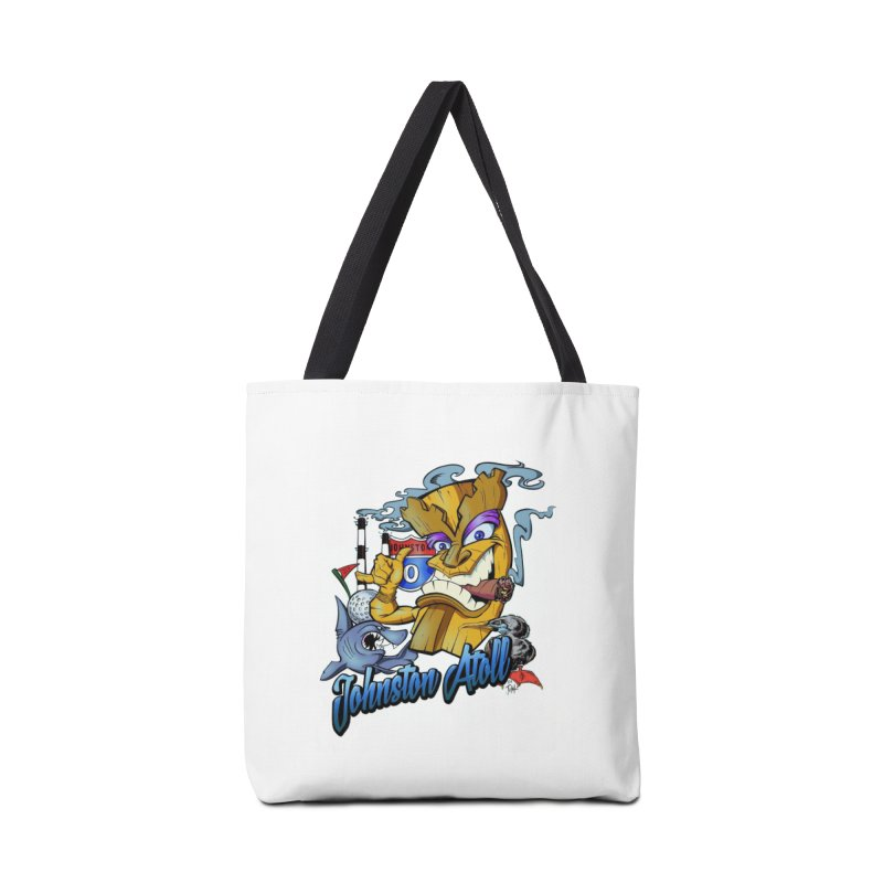 Johnston Island Accessories Tote Bag Bag by goofyink's Artist Shop