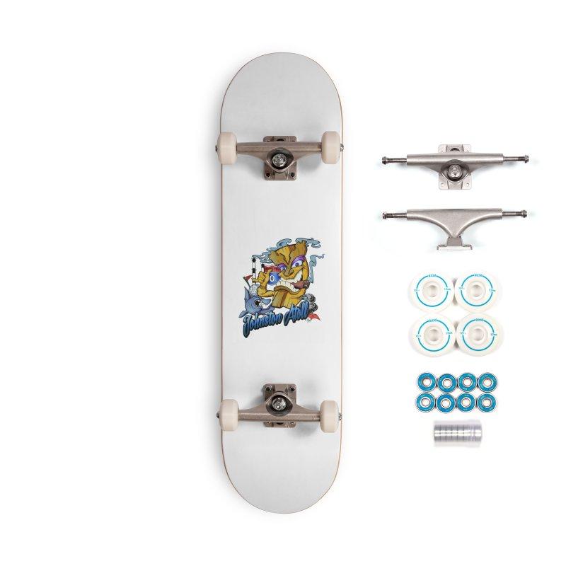 Johnston Island Accessories Skateboard by goofyink's Artist Shop