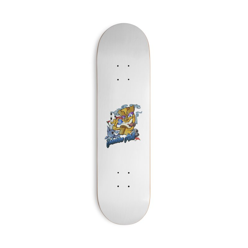Johnston Island Accessories Skateboard by goofyink's Artist Shop