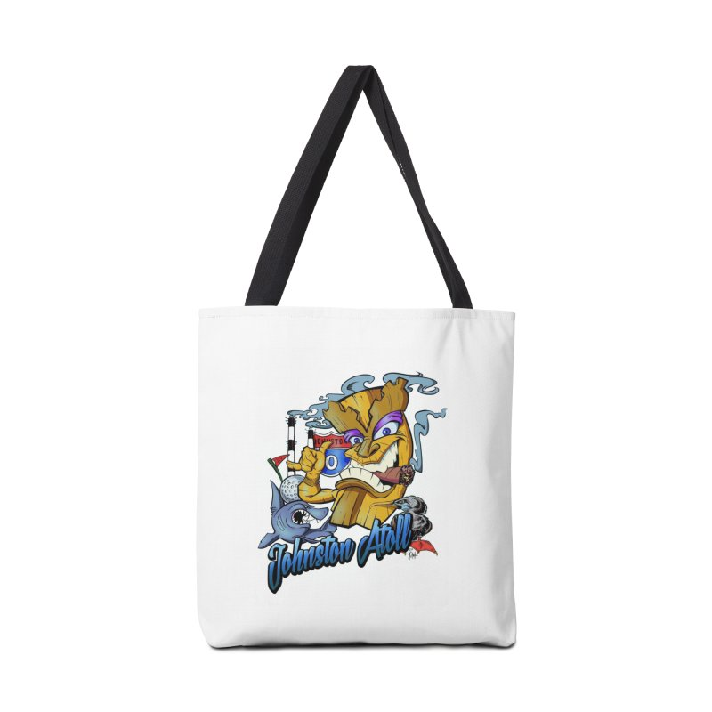Johnston Island Accessories Bag by goofyink's Artist Shop