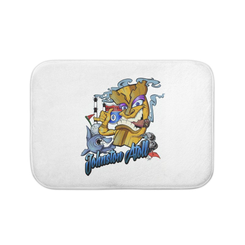 Johnston Island Home Bath Mat by goofyink's Artist Shop
