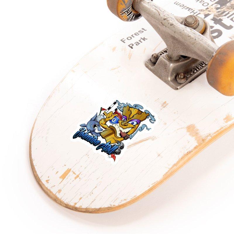 Johnston Island Accessories Sticker by goofyink's Artist Shop