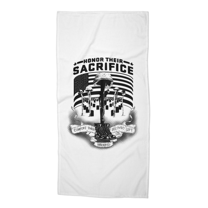 Sacrifice Accessories Beach Towel by goofyink's Artist Shop