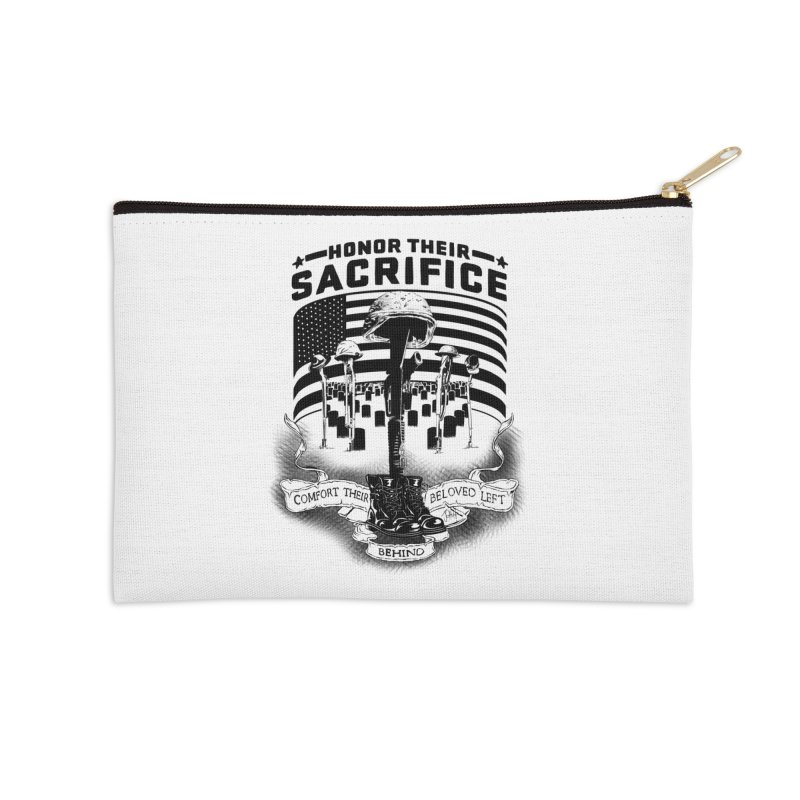 Sacrifice Accessories Zip Pouch by goofyink's Artist Shop