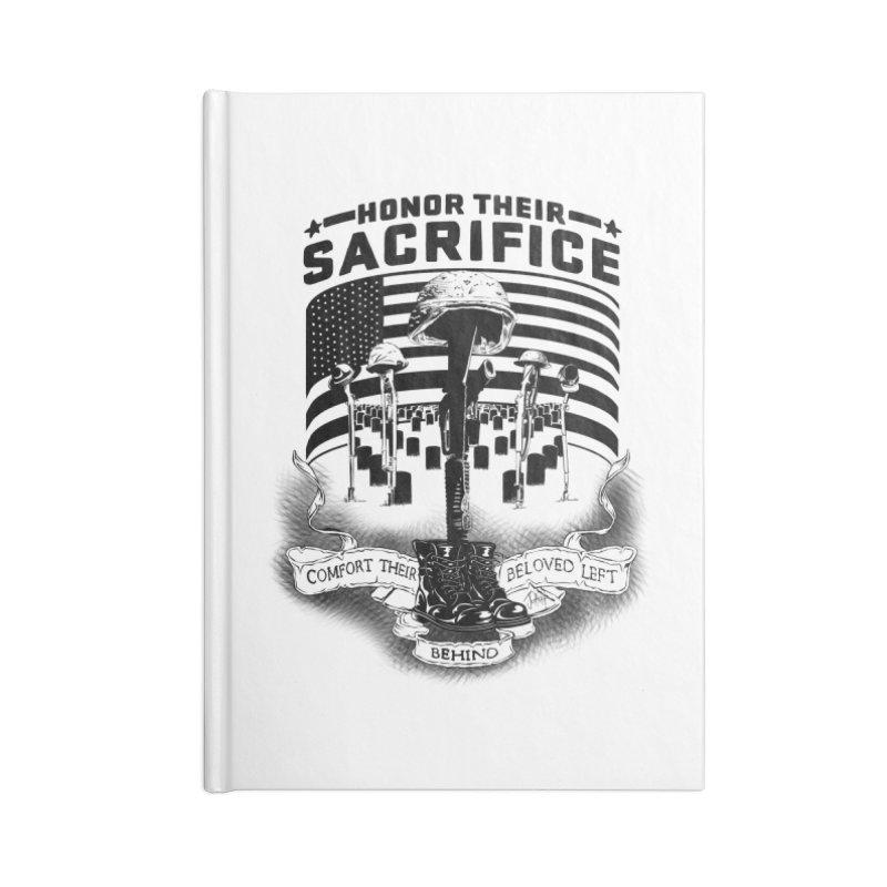 Sacrifice Accessories Lined Journal Notebook by goofyink's Artist Shop