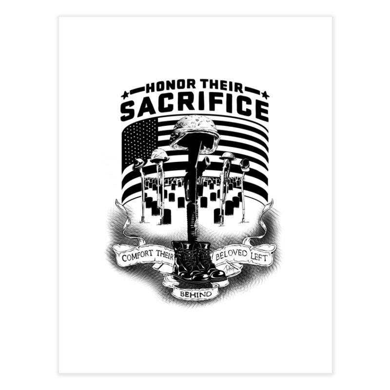 Sacrifice Home Fine Art Print by goofyink's Artist Shop