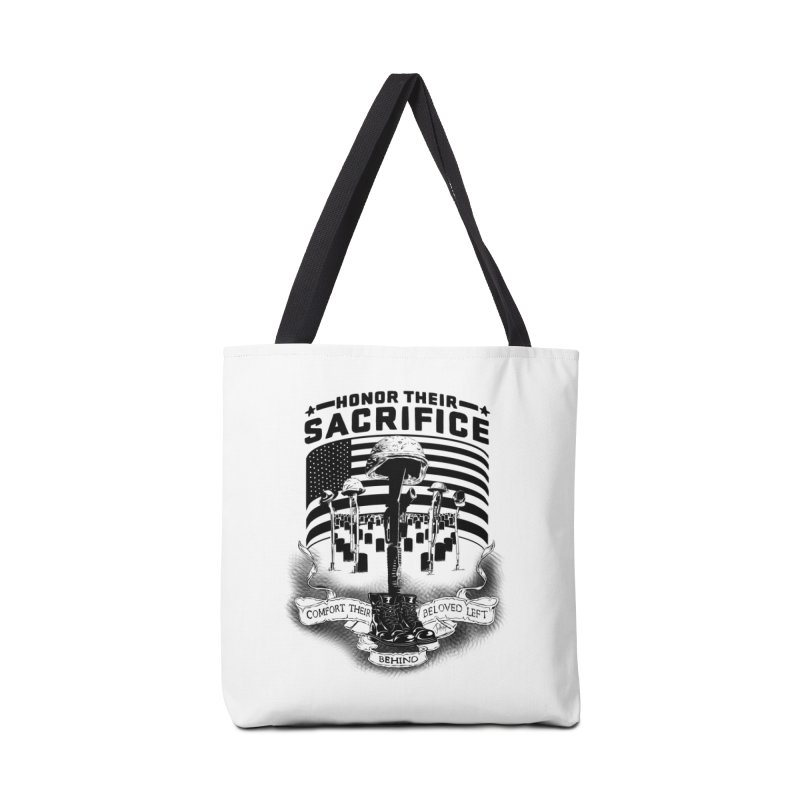 Sacrifice Accessories Tote Bag Bag by goofyink's Artist Shop