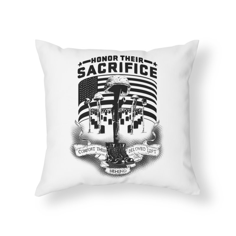 Sacrifice Home Throw Pillow by goofyink's Artist Shop
