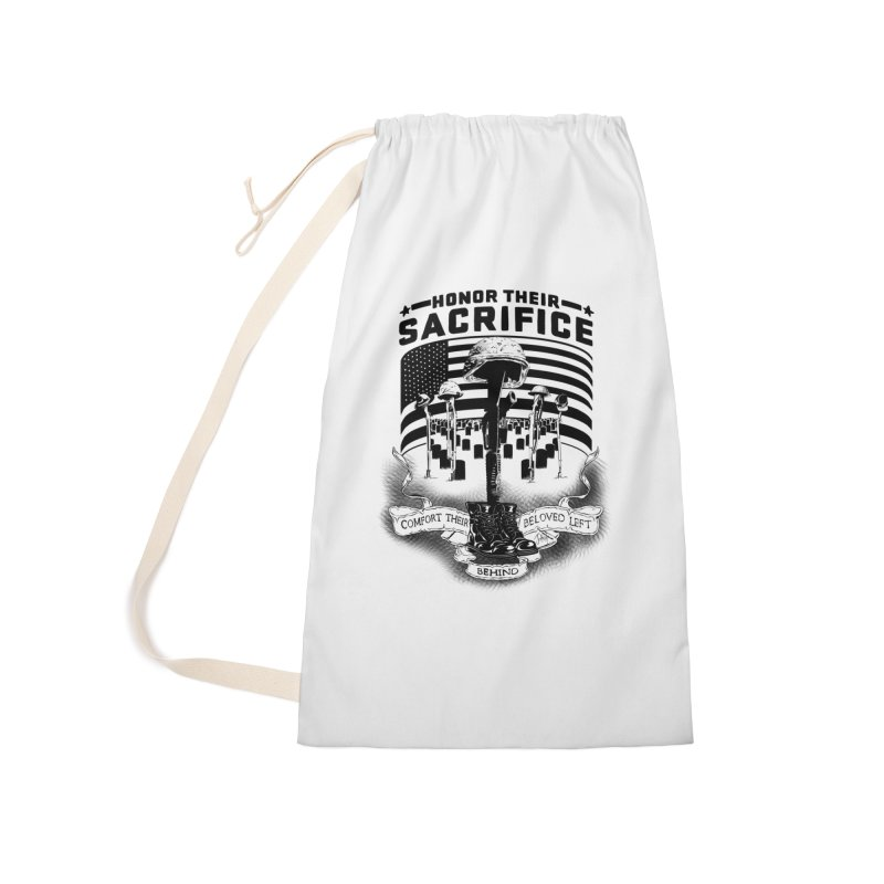 Sacrifice Accessories Laundry Bag Bag by goofyink's Artist Shop