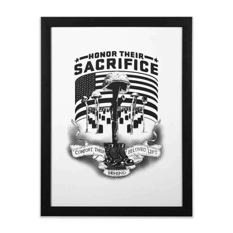 Sacrifice Home Framed Fine Art Print by goofyink's Artist Shop