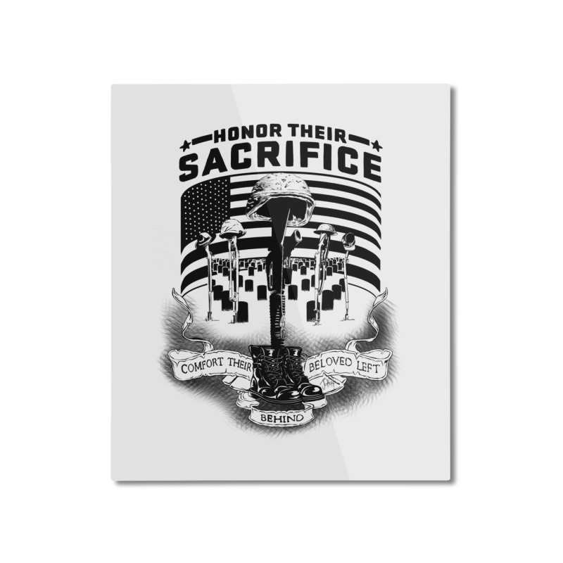 Sacrifice Home Mounted Aluminum Print by goofyink's Artist Shop