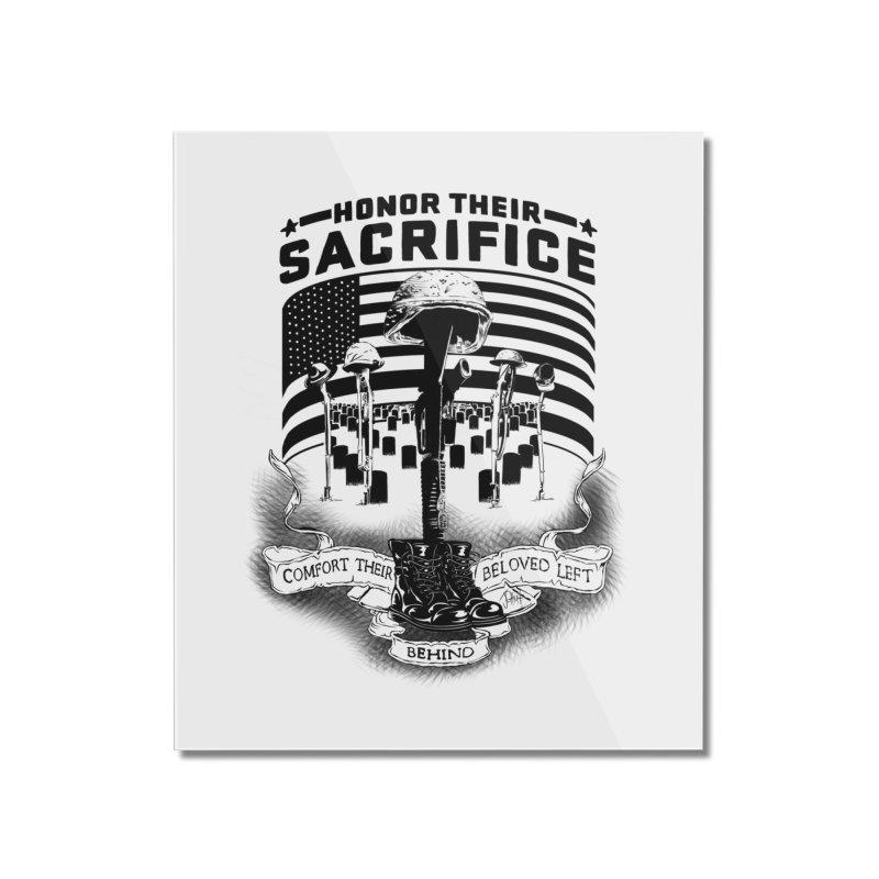 Sacrifice Home Mounted Acrylic Print by goofyink's Artist Shop