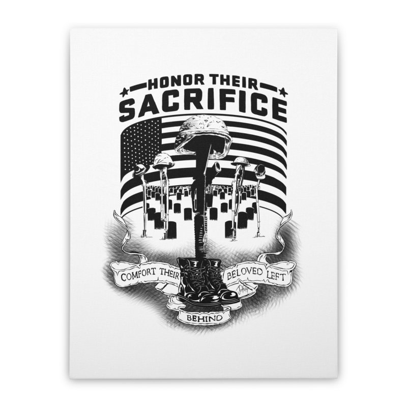 Sacrifice Home Stretched Canvas by goofyink's Artist Shop