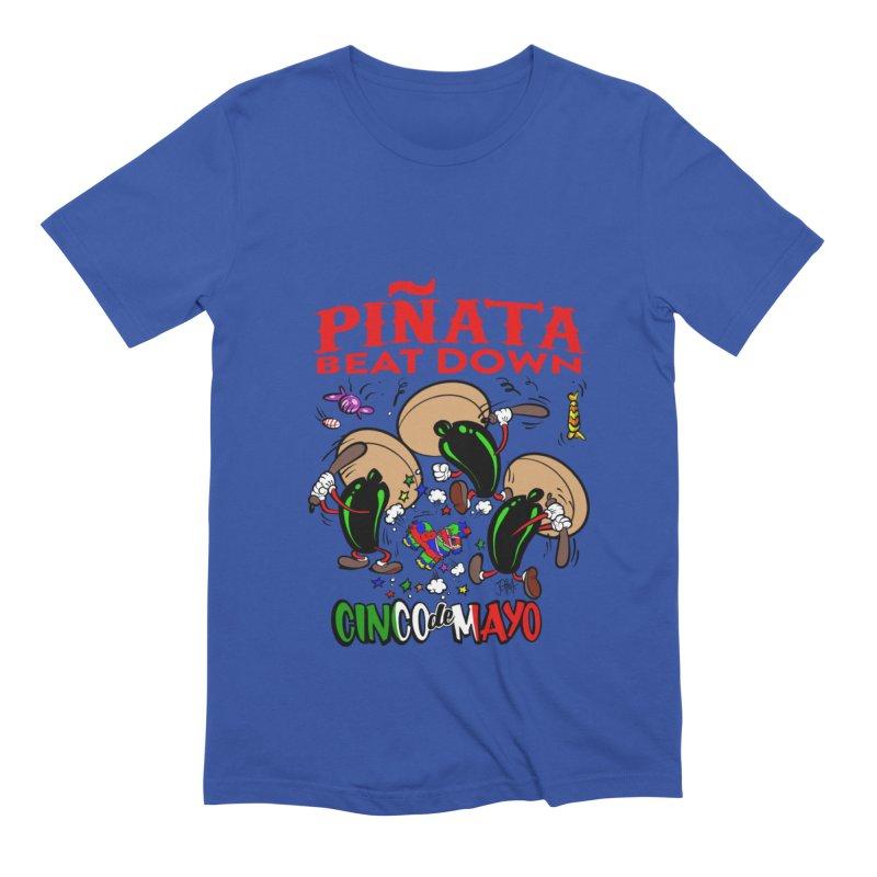 Pinata Beat Down Men's Extra Soft T-Shirt by goofyink's Artist Shop