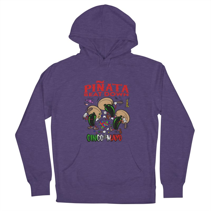 Pinata Beat Down Men's Pullover Hoody by goofyink's Artist Shop