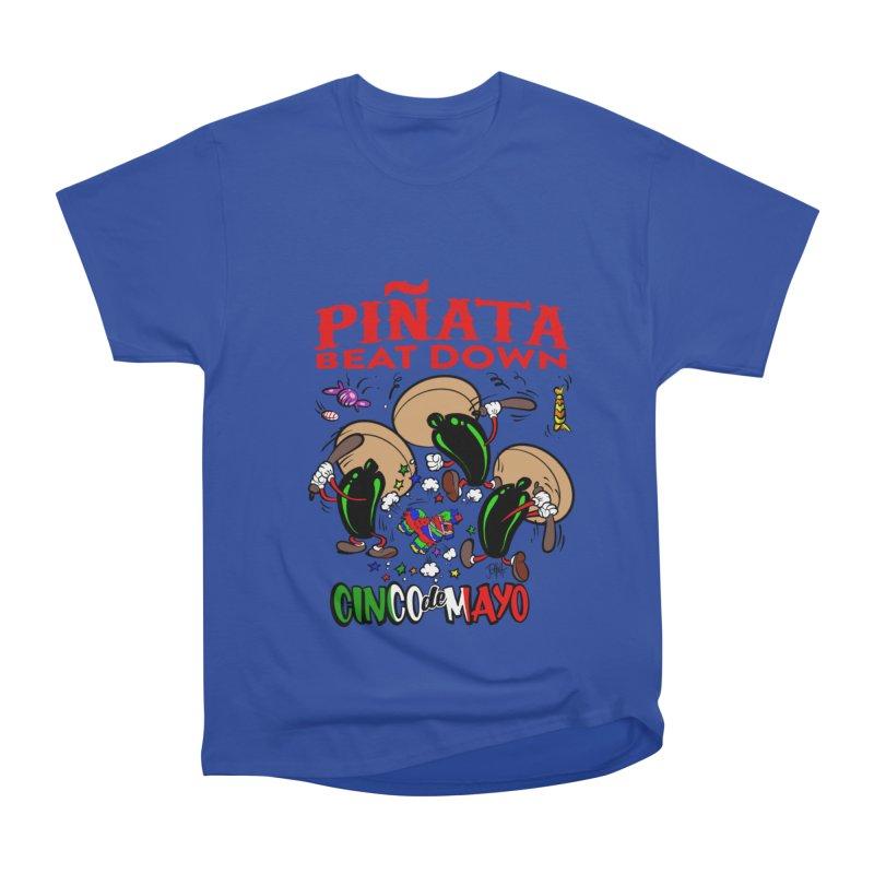 Pinata Beat Down Men's Heavyweight T-Shirt by goofyink's Artist Shop