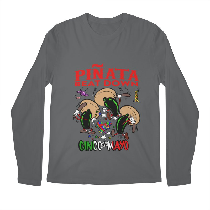 Pinata Beat Down Men's Longsleeve T-Shirt by goofyink's Artist Shop