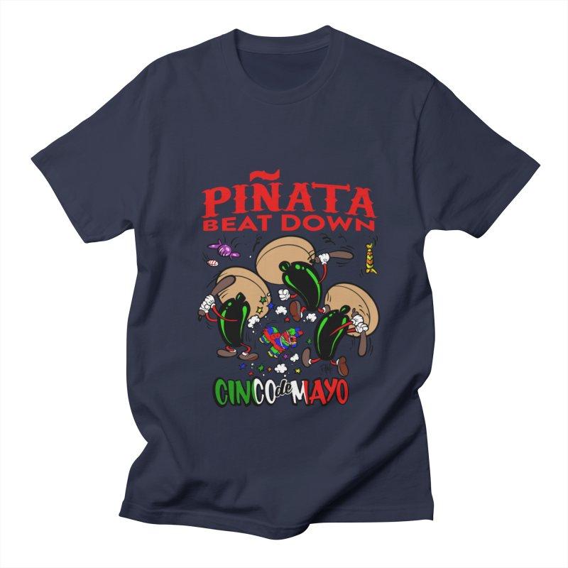 Pinata Beat Down Men's Regular T-Shirt by goofyink's Artist Shop