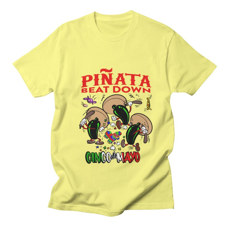 Pinata Beat Down Men's Regular T-Shirt by goofyink's Artist Shop