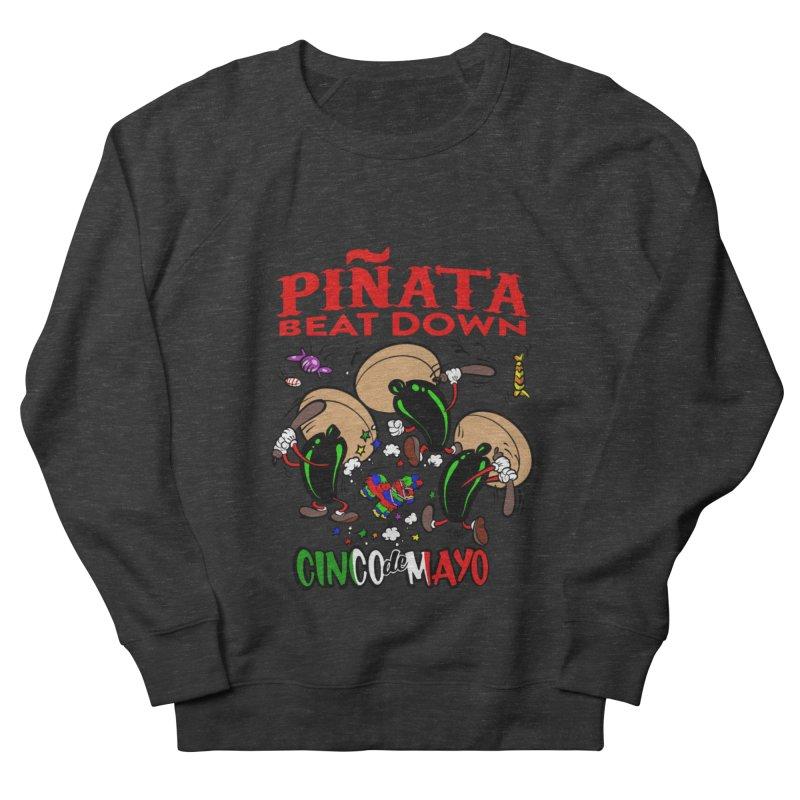 Pinata Beat Down Men's Sweatshirt by goofyink's Artist Shop