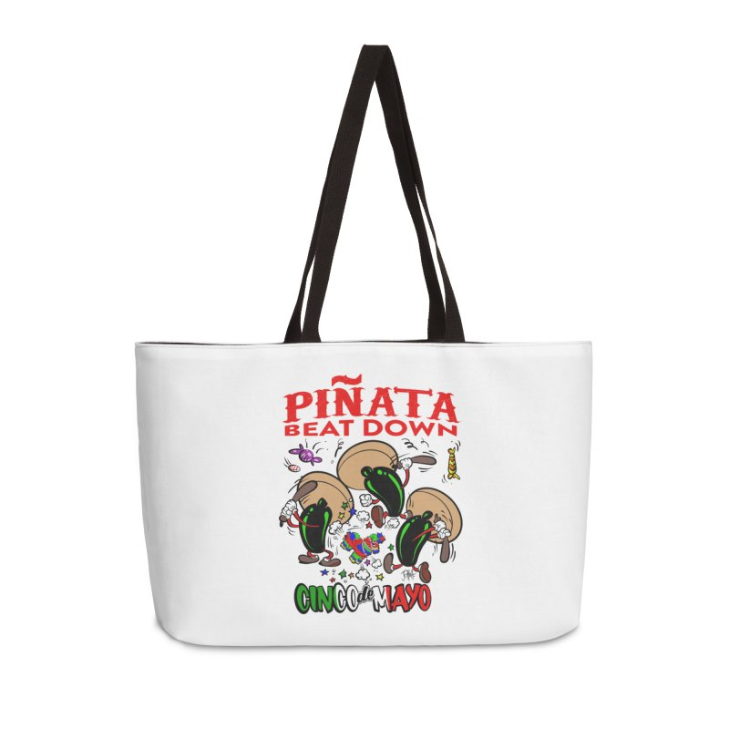 Pinata Beat Down Accessories Weekender Bag Bag by goofyink's Artist Shop