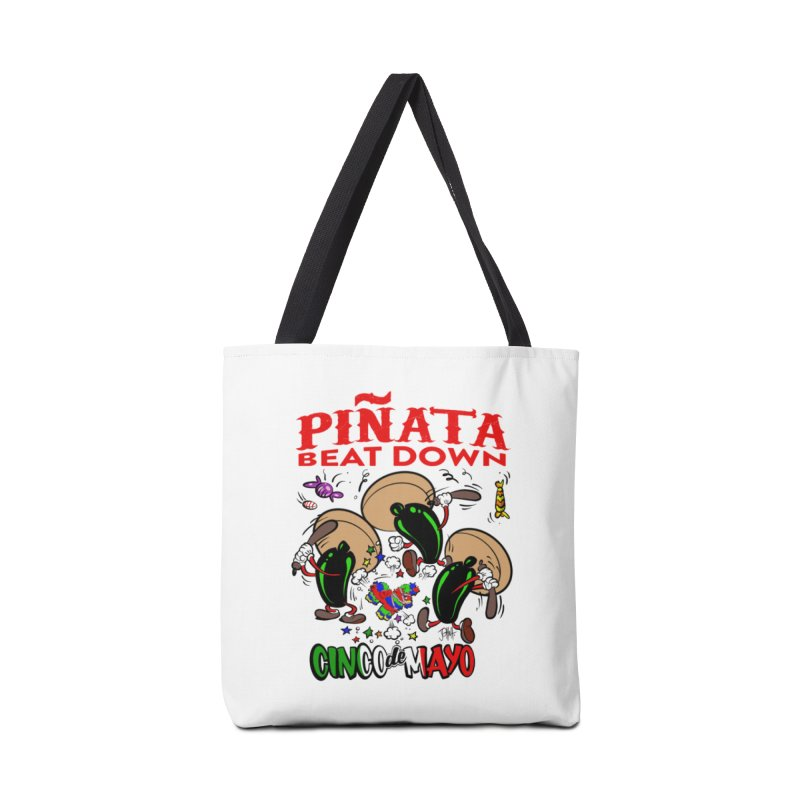Pinata Beat Down Accessories Tote Bag Bag by goofyink's Artist Shop