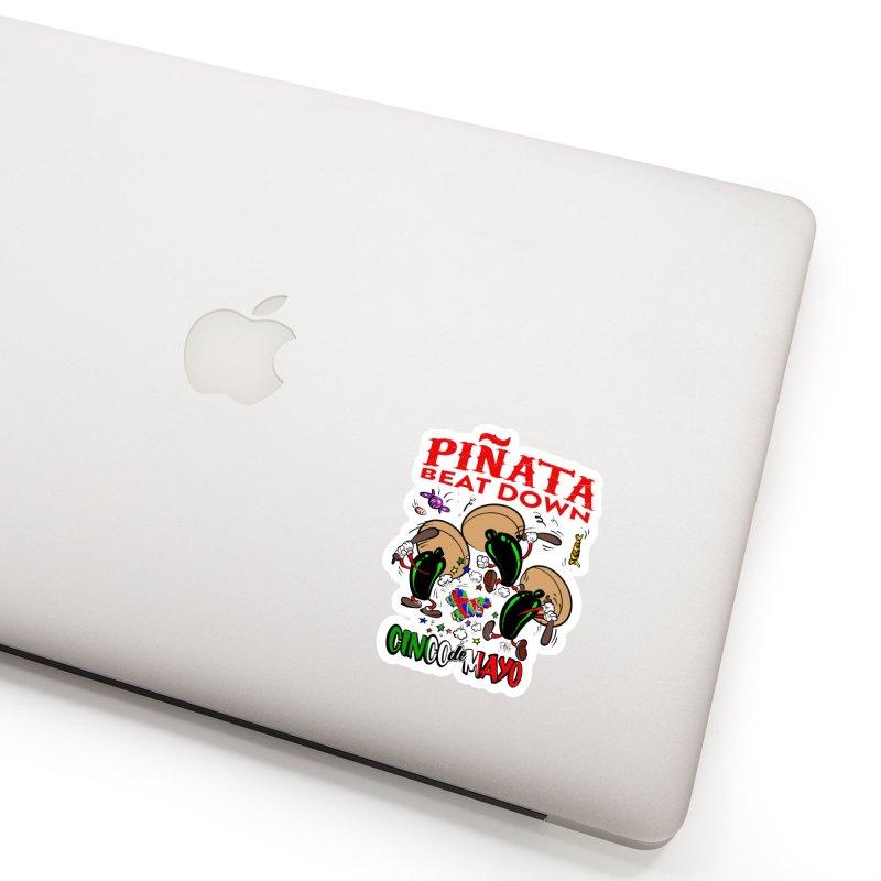 Pinata Beat Down Accessories Sticker by goofyink's Artist Shop