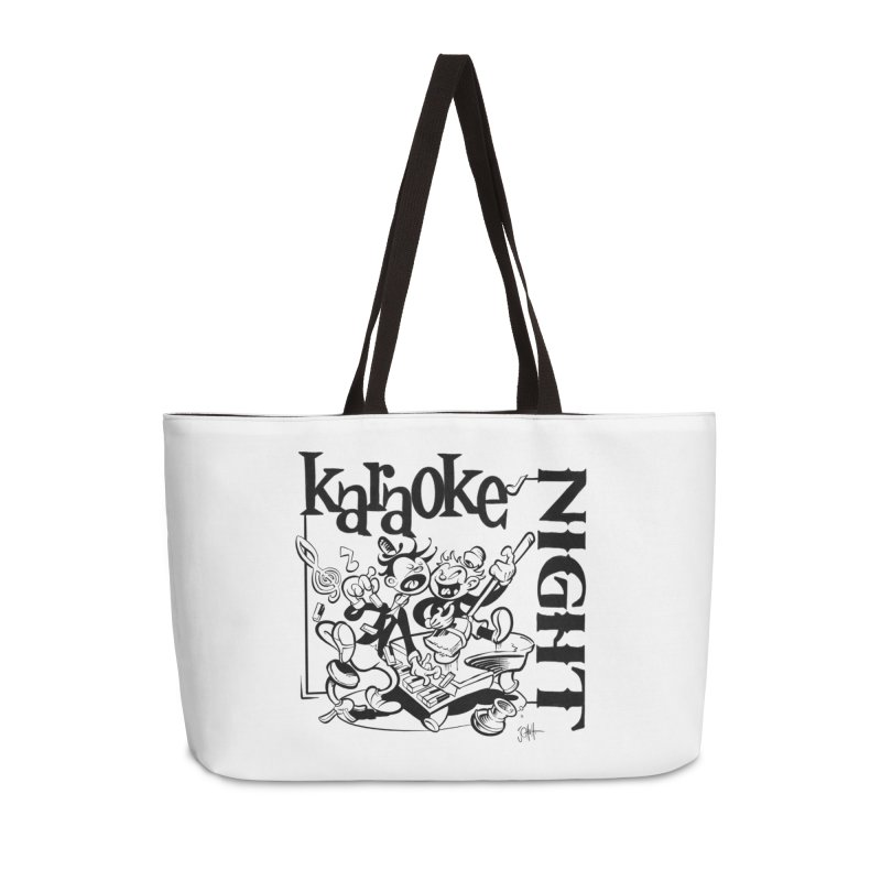 karaoke night Accessories Weekender Bag Bag by goofyink's Artist Shop