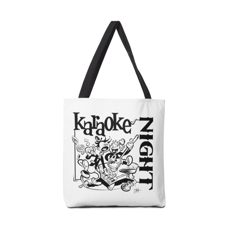 karaoke night Accessories Bag by goofyink's Artist Shop