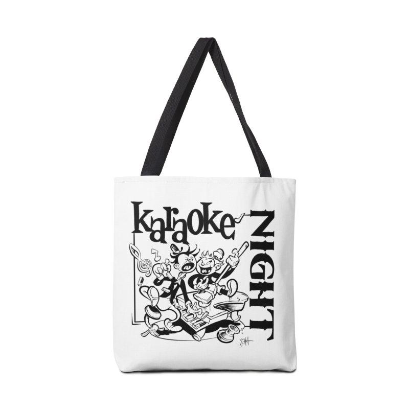 karaoke night Accessories Bag by goofyink's Artist Shop
