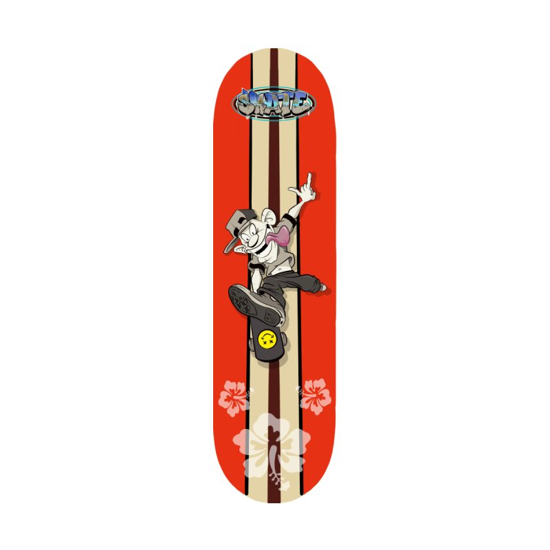 Skater Dude Accessories Skateboard by goofyink's Artist Shop