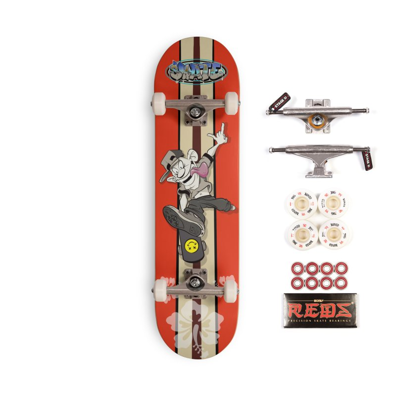 Skater Dude Accessories Complete - Pro Skateboard by goofyink's Artist Shop