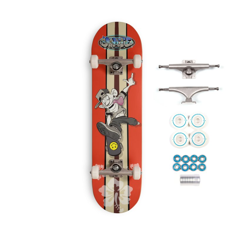 Skater Dude Accessories Complete - Basic Skateboard by goofyink's Artist Shop
