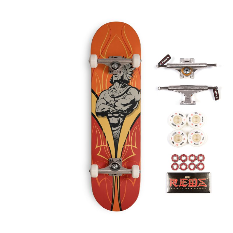 Big Chief Accessories Complete - Pro Skateboard by goofyink's Artist Shop