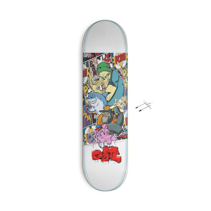 Skater Dudes Accessories Skateboard by goofyink's Artist Shop