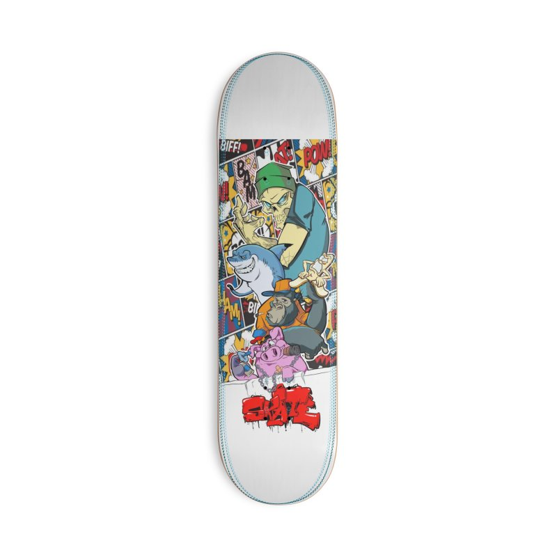 Skater Dudes Accessories Deck Only Skateboard by goofyink's Artist Shop