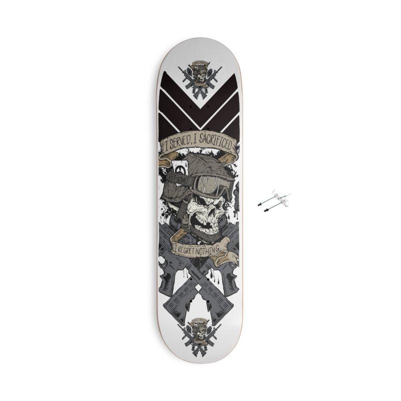 Sacrifice Accessories Skateboard by goofyink's Artist Shop